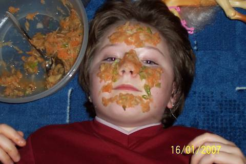 FOTKA - výživná pleťová maska