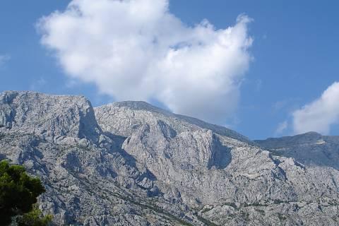FOTKA - Pohled na hory ... (Chorvatsko)
