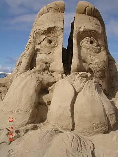 FOTKA - Socha z písku ... (Scheveninge-Nizozemí)