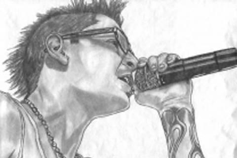 FOTKA - Frontman skupiny Linkinpark