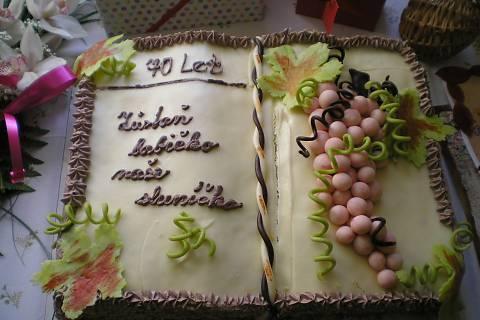 FOTKA - narozeninový dort:)