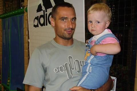 FOTKA - Můj syn Patrik a Roman Šebrle