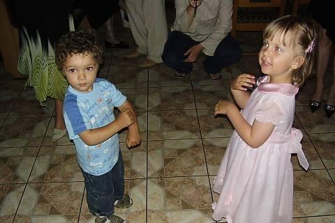 FOTKA - Tan-tan, já jsem holčička z Česka- a já jsem kluk z Maroka