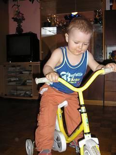 FOTKA - učím se na kole