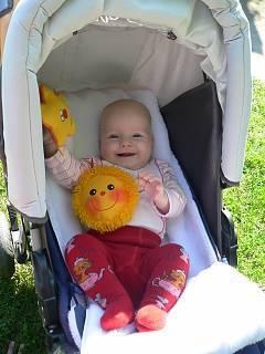 FOTKA - Eliška 5 měsíců