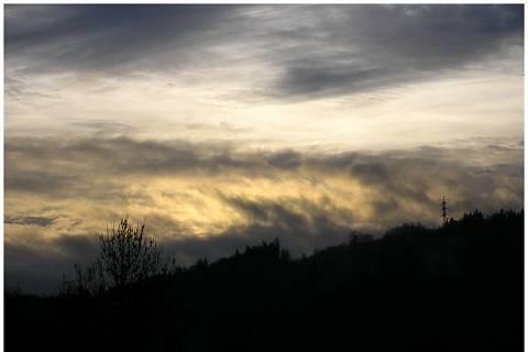 FOTKA - soumrak nad Vsetínem