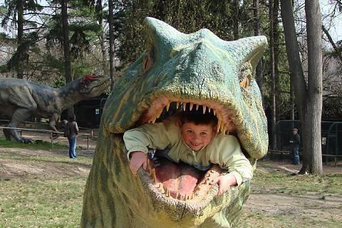 FOTKA - v dinosauří hlavě