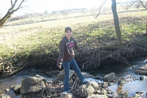 FOTKA - u potoka