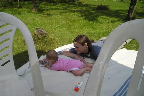 FOTKA - Uz abysme takle na dece zase brzo lezely