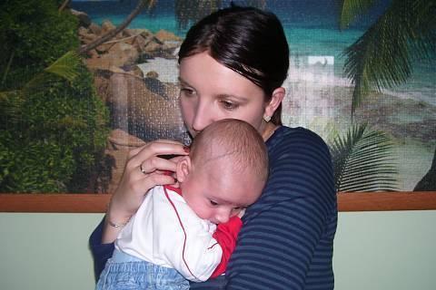 FOTKA - Nikolásek s maminkou