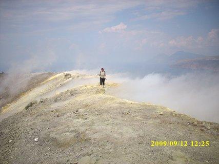 FOTKA - Sicílie,ostrov  Vulkáno - sopka