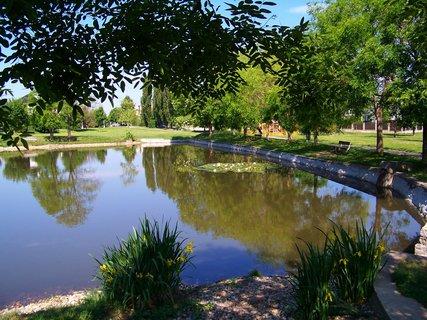 FOTKA - vyj��ka na kole 22.5.11, rybn��ek Ohrada v Kunratic�ch