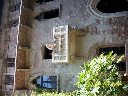 FOTKA - Balkon ve Veroně
