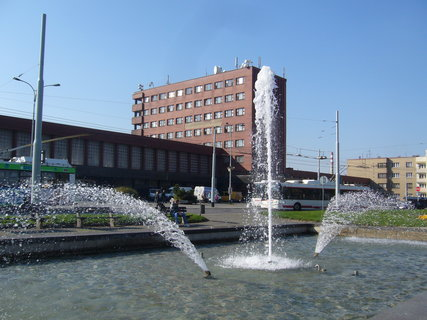 FOTKA - Pardubice - fontána