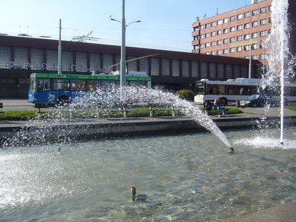 FOTKA - Pardubice - fontána.