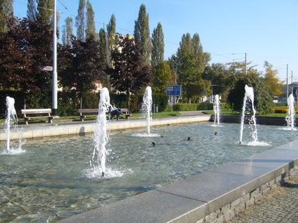 FOTKA - Pardubice - fontána......