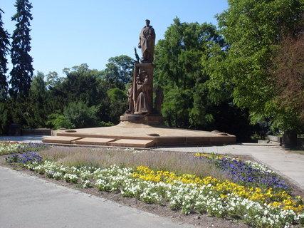 FOTKA - Pardubice - pomník osvobození