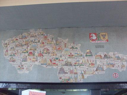 FOTKA - Pardubice - vnitřek vlakového nádraží