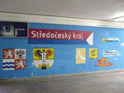 FOTKA - Podchod vlak. nádraží Poděbrad