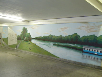 FOTKA - Podchod vlak. nádraží Poděbrad.....