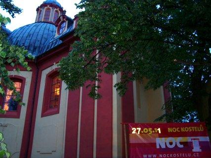 FOTKA - Noc kostelů, Kunratice - kostel Sv. Jakuba Většiího