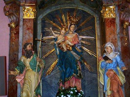 FOTKA - Sv. Maria s ježíšem