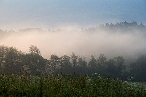 FOTKA - Mlha nad Ohří