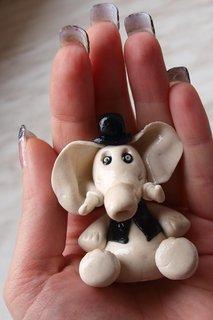 FOTKA - sloník pro štěstí velikost akorát do ruky