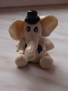 FOTKA - sloník pro štěstí.