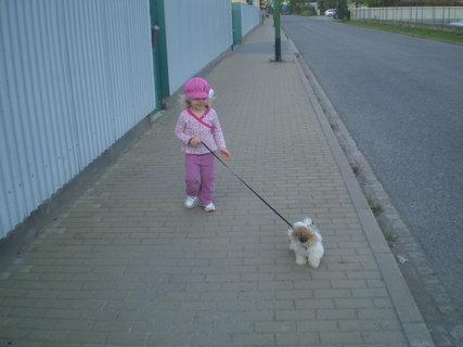 FOTKA - venčíme psíka