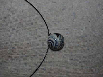 FOTKA - náhrdelník s fimo koulí