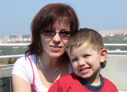 FOTKA - A jeste jednou s tetou...:)