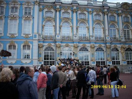 FOTKA - Jekatěrinský Palác  v Puškino