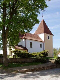 FOTKA - kostel Povýšení Svatého Kříže, Chanovice