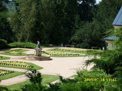 FOTKA - park u  zámku