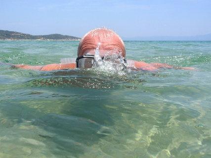 FOTKA - manžel jako moře-plavec