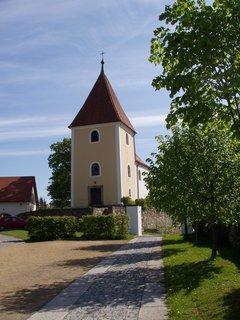FOTKA - kostelík v Chanovicích na Klatovsku v Plzeňském kraji