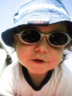 FOTKA - Moje první sluneční brýle