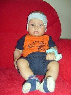 FOTKA - syn od neteře - 4 měsíce.,