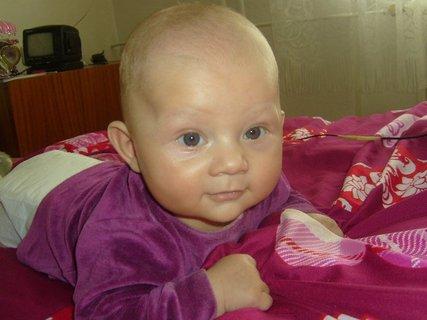 FOTKA - syn od neteře - 4 měsíce,