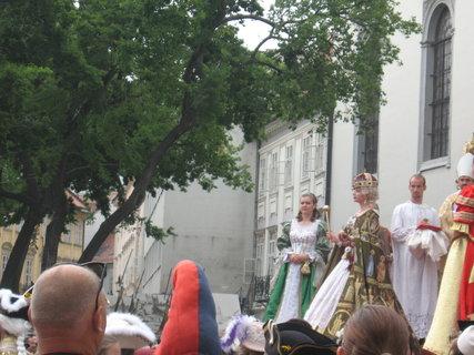 FOTKA - V bratislave korunovali Máriu Teréziu....
