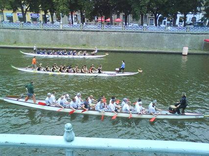 FOTKA - p��jezd dra��ch lod� na start