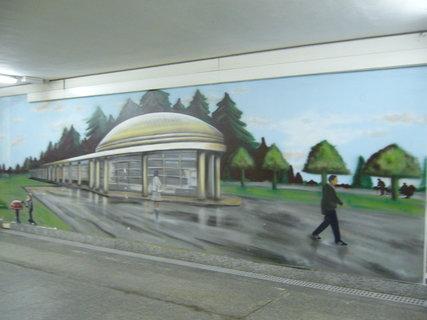 FOTKA - Podchod vlak. nádraží Poděbrad..............