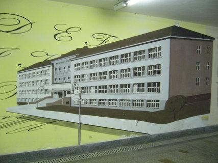 FOTKA - Podchod vlak. nádraží Poděbrad,,