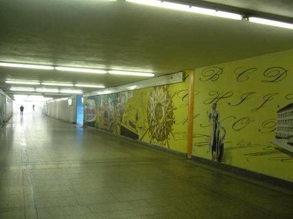 FOTKA - Podchod vlak. nádraží Poděbrad,,,,,,