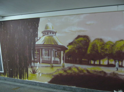 FOTKA - Podchod vlak. nádraží Poděbrad,,,,,,,,,,,,,
