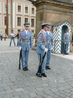 FOTKA - Pražský hrad - výměna stráží,,