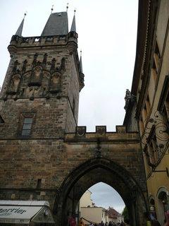 FOTKA - Praha - Brána na Karlův most