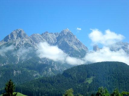 FOTKA - Pohled na Kamenné moře (Saalfelden) dnes v poledne 3