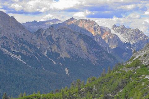 FOTKA - Ranní nálady v Dolomitech